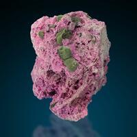 Kolwezite On Cobaltoan Calcite