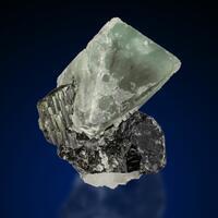 Hydroxylherderite On Elbaite