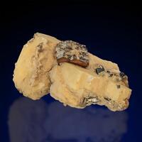 Pyrrhotite On Calcite