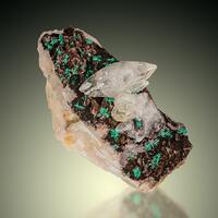 Calcite & Malachite