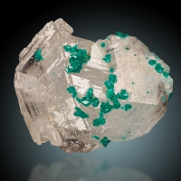Dioptase On Cerussite
