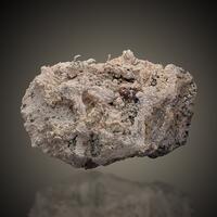 Silver On Rhodochrosite
