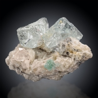Fluorite & Topaz