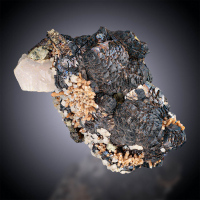 Sphalerite Pyrrhotite & Calcite