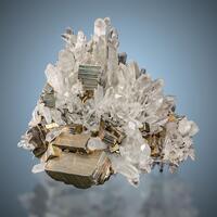 Rock Crystal & Pyrite