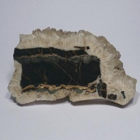 Schalenblende In Calcite