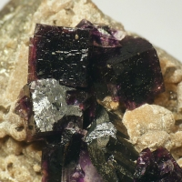 Fluorite & Wolframite