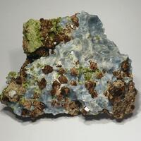 Vesuvianite & Diopside