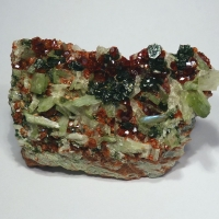 Diopside & Hessonite