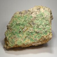 Chalcosiderite On Granite