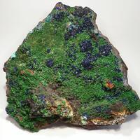 Adamite-Olivenite Series & Azurite