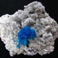 Cavansite With Calcite