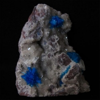 Cavansite Pentagonite & Stilbite