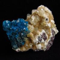 Cavansite & Calcite