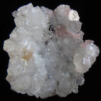 Apophyllite With Quartz & Mordenite