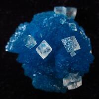 Calcite On Cavansite