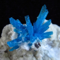 Pentagonite With Mordenite On Heulandite