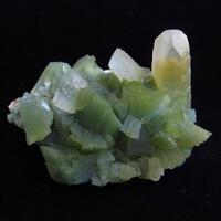 Heulandite With Calcite