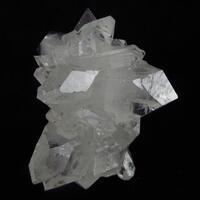 Apophyllite On Calcite