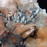 Apophyllite & Stilbite On Chalcedony