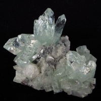Apophyllite On Matrix