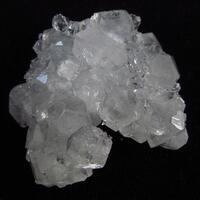 Apophyllite With Quartz