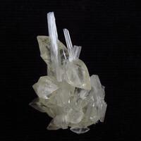 Calcite On Scolecite