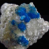 Pentagonite With Calcite & Mordenite On Heulandite