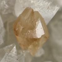 Powellite On Quartz