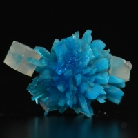 Pentagonite With Calcite