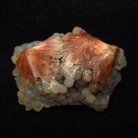 Chalcedony On Scolecite