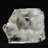 Calcite Included With Chalcedony & Mordenite