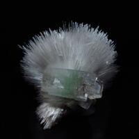 Scolecite With Apophyllite