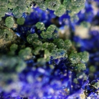 Zincolivenite & Azurite