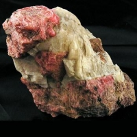 Rhodonite & Calcite
