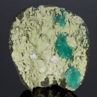Apophyllite Chabazite On Chalcedony