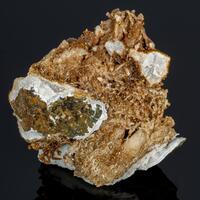 Siderite Psm Mordenite & Calcite