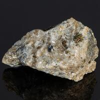 Scheelite & Pyrite On Quartz