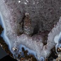 Agate With Calcite & Quartz