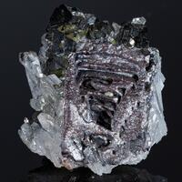 Sphalerite With Skeletal Galena