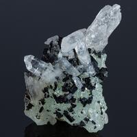Babingtonite Prehnite & Quartz