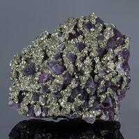 Amethyst & Pyrite