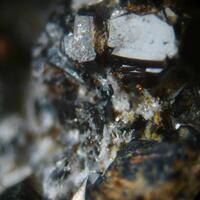 Brianyoungite Sphalerite & Hydrozincite