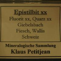 Fluorite & Epistilbite