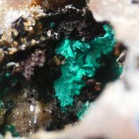Linarite Malachite Leadhillite & Caledonite