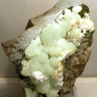 Prehnite Babingtonite & Laumontite