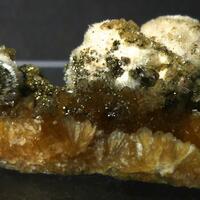 Natrolite Stilbite & Pyrite