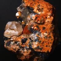 Wulfenite Cerussite & Baryte