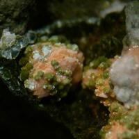 Laumontite & Pumpellyite