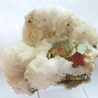 Pyrite & Manganoan Calcite